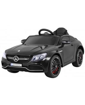Elektrické autíčko Mercedes Benz C63 AMG čierne